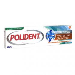 Polident crème fixative protection gencives tube 40 gr