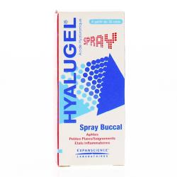 EXPANSCIENCE Hyalugel spray buccal flacon 20ml