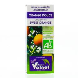 VALNET Huile essentielle d�orange douce bio flacon 10ml