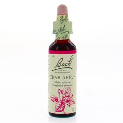 BACH Original n°10 Crab apple fleur de bach flacon compte-gouttes 20ml