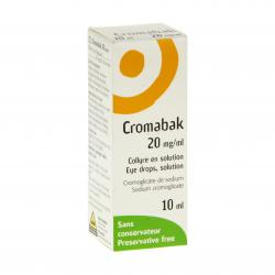 Cromabak 20 mg/ml flacon 10ml