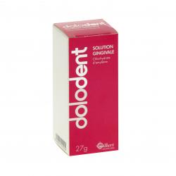 Dolodent solution gingivale flacon de 27 g