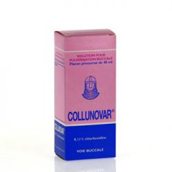 Collunovar 0,11 pour cent flacon de 40 ml