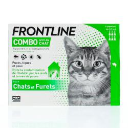 FRONTLINE Combo spot-on chat  6 pipettes