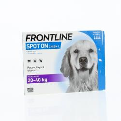 FRONTLINE Spot-on chien de 20 à 40kg