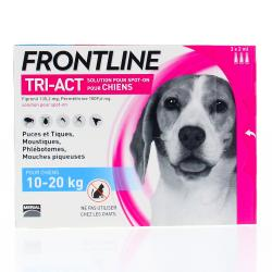 FRONTLINE Tri-act chiens 10-20 kg