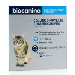 BIOCANINA Collier anti-parasitaire chat