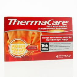 THERMACARE Patch auto-chauffant bas du dos  patch chauffants x 4