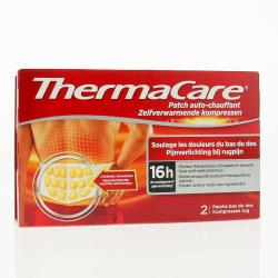 THERMACARE Patch auto-chauffant bas du dos  patch chauffants x2