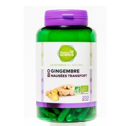 PHARMASCIENCE Gingembre 200 gélules