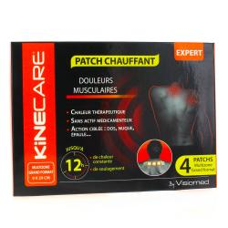 KINECARE Patchs chauffants multizone x 4