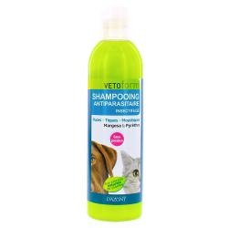 VETOFORM Shampooing anti-parasitaire/insectifuge chien & chats flacon 250 ml