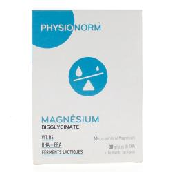 PHYSIONORM Magnesium 60 cp + 30 gél