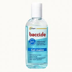 COOPER Baccide gel mains hydroalcoolique flacon 100 ml