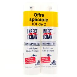 INSECT ECRAN Zones infestées lot de 2 sprays de 100 ml