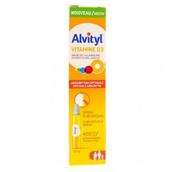 ALVITYL Vitamine D3 spray sublingual 10ml