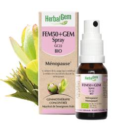 HERBALGEM Fem50+Gem Spray GC22 Bio Ménopause 15ml